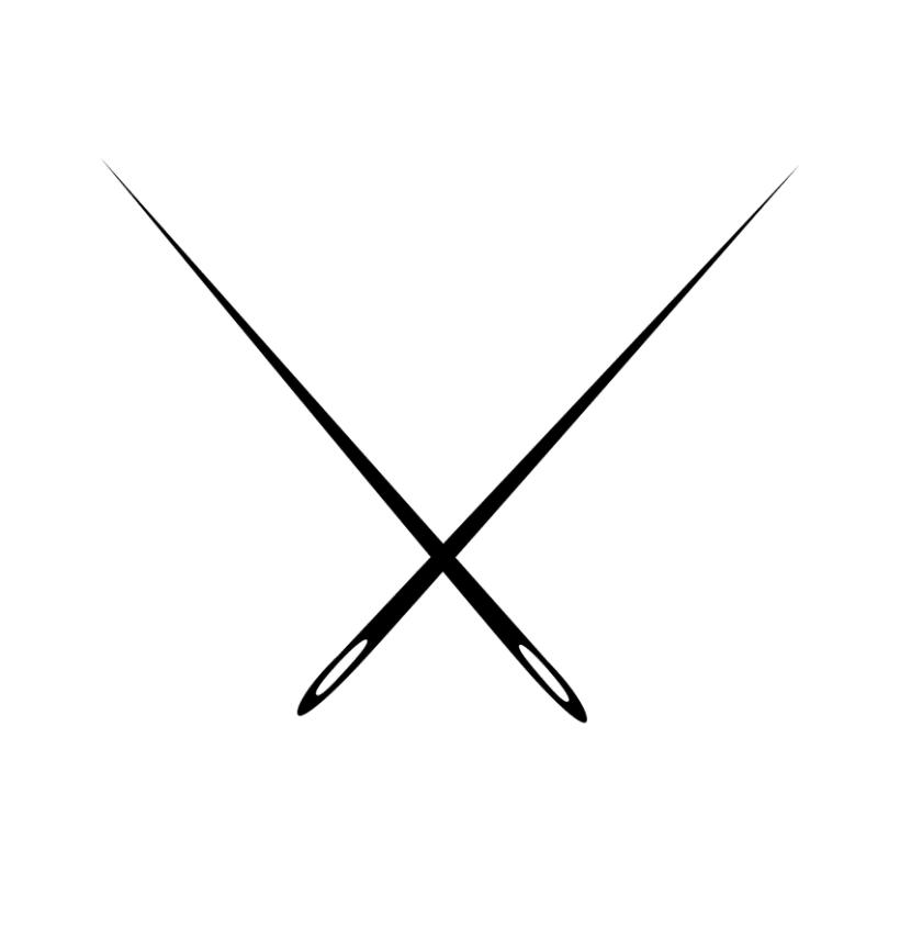 Logotipo Costuras · mercería creativa 0