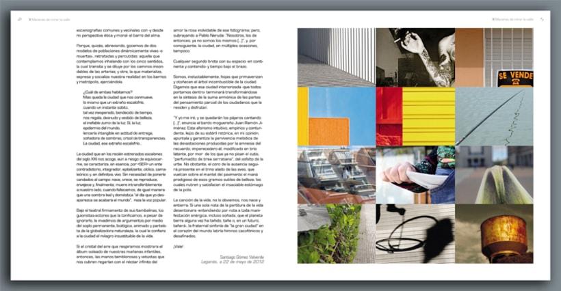 """Catalogo de la exposición colectiva de fotografía """"X Maneras de mirar la calle"""" 2"""