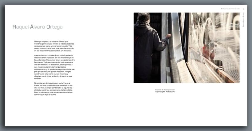 """Catalogo de la exposición colectiva de fotografía """"X Maneras de mirar la calle"""" 3"""