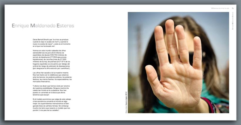 """Catalogo de la exposición colectiva de fotografía """"X Maneras de mirar la calle"""" 5"""