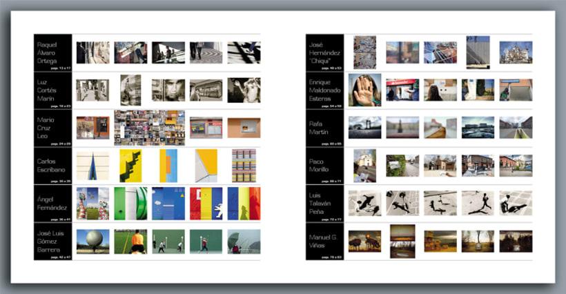 """Catalogo de la exposición colectiva de fotografía """"X Maneras de mirar la calle"""" 8"""