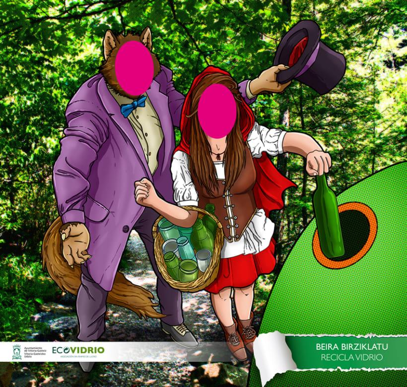 Photocalls campaña de reciclaje de vidrio 0