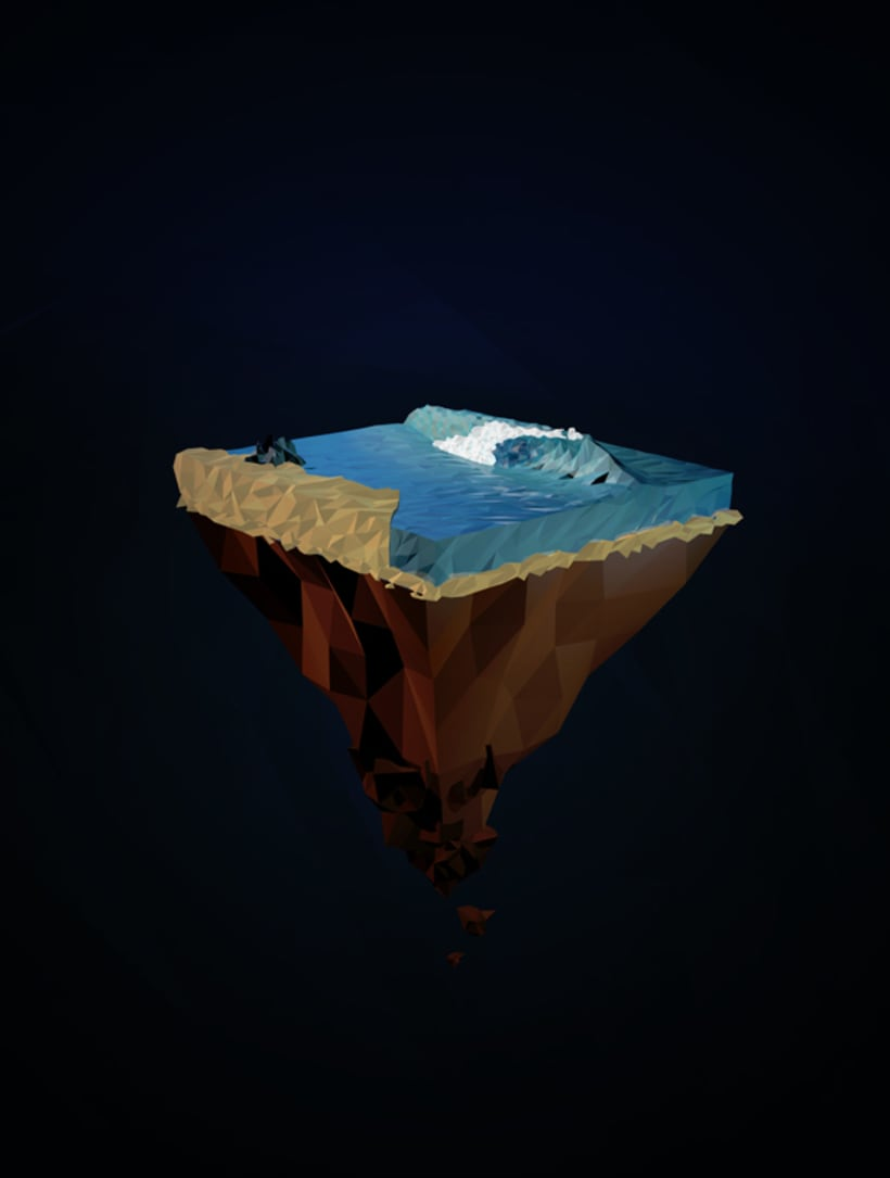 Surf Art 3D - LowPoly 3