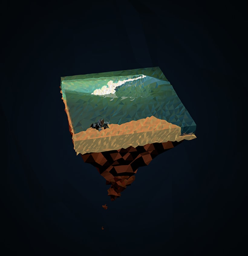 Surf Art 3D - LowPoly 2
