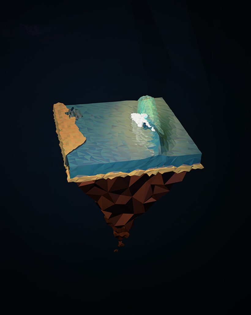 Surf Art 3D - LowPoly 4
