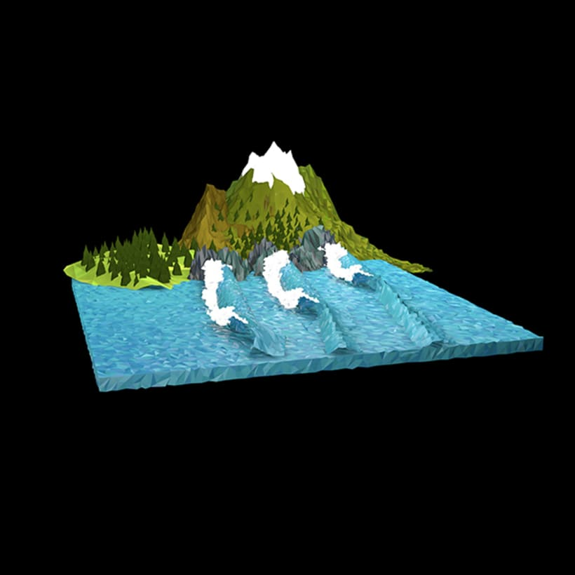 Surf Art 3D - LowPoly 6