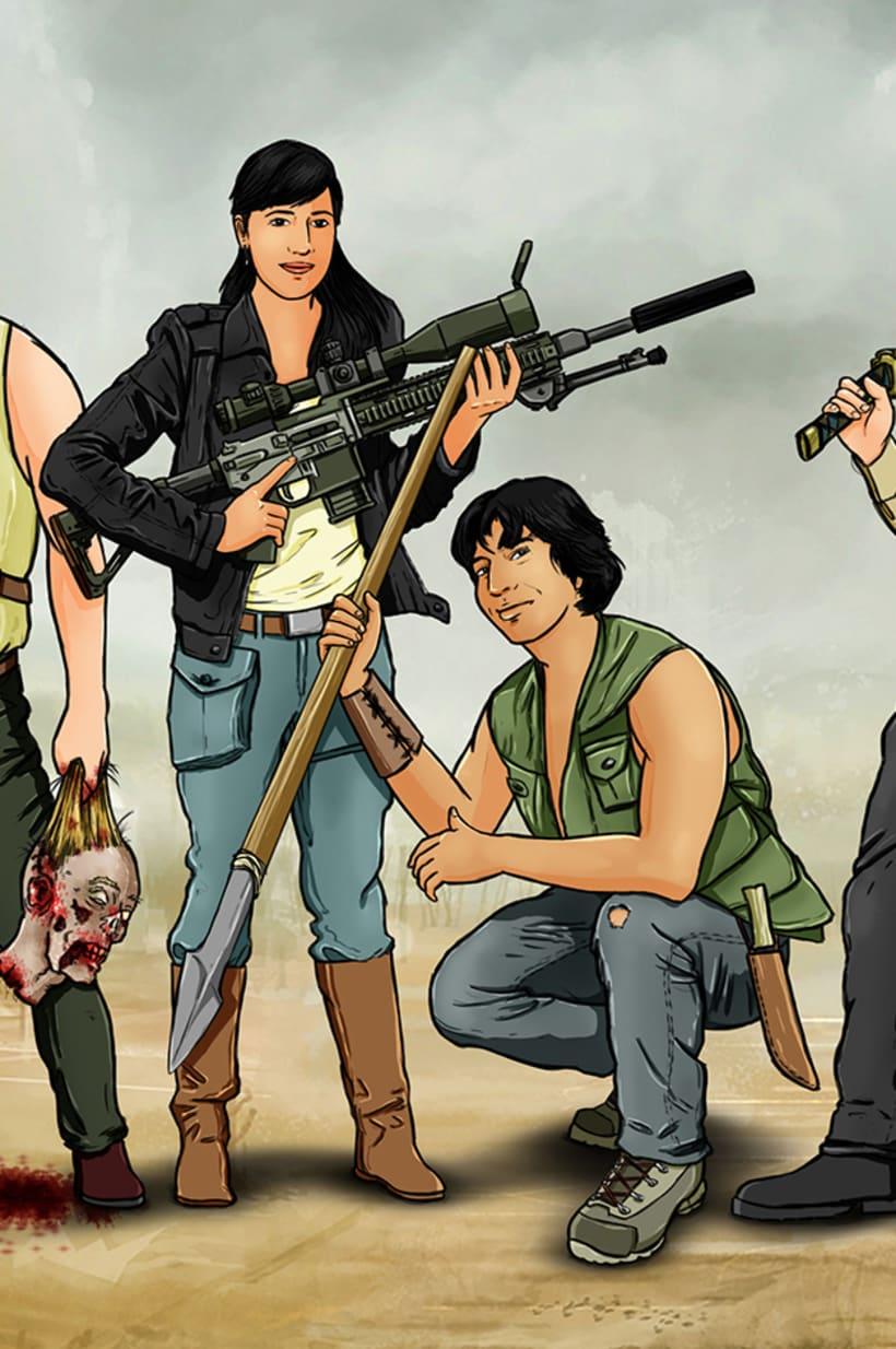Zombie apocalypse survival team 2