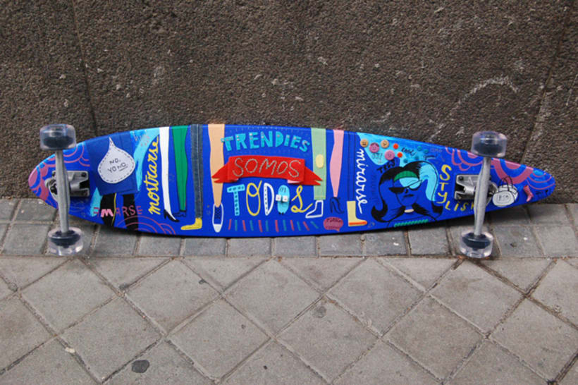 CUSTOMIZED LONGBOARD 0