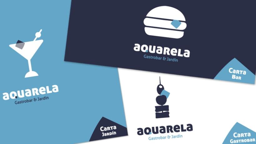 Carta Aquarela Gastrobar & Jardín 2