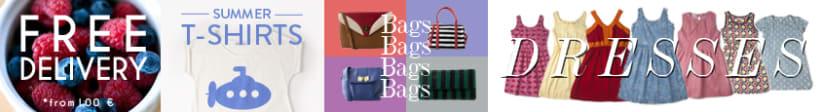 Cabeceras web y banners moda 6