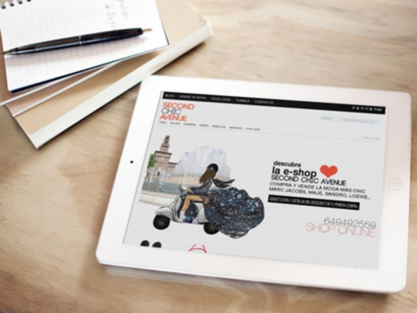 Creación tienda online ropa de segunda mano 1