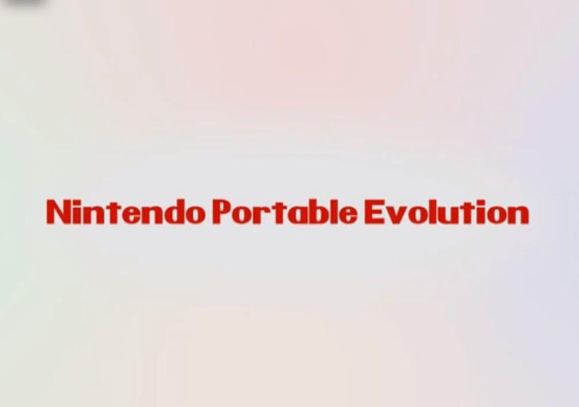 Nintendo Portable Evolution 1