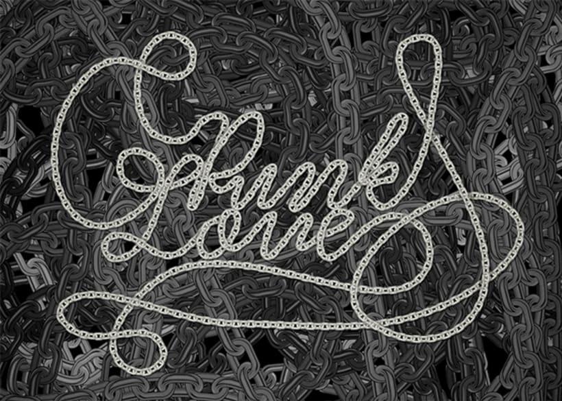 Punk Love // Lettering -1