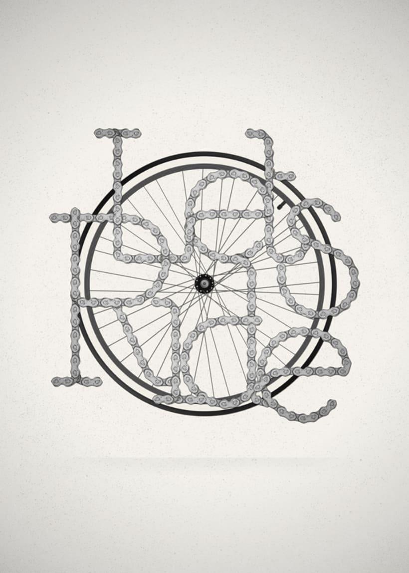 Let´s Ride // Lettering -1