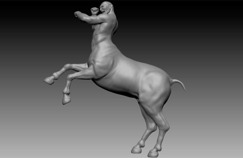 Centauro 3D - Zbrush 6