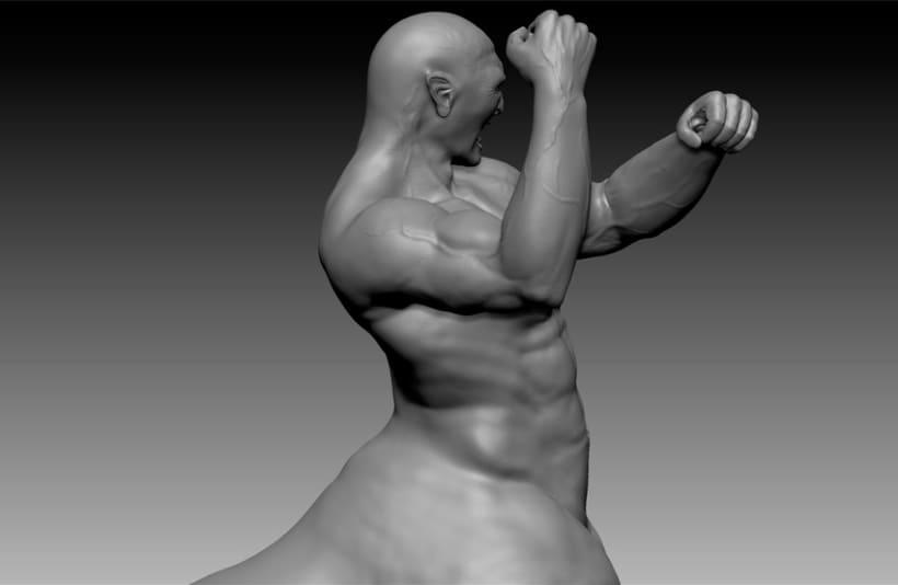 Centauro 3D - Zbrush 9
