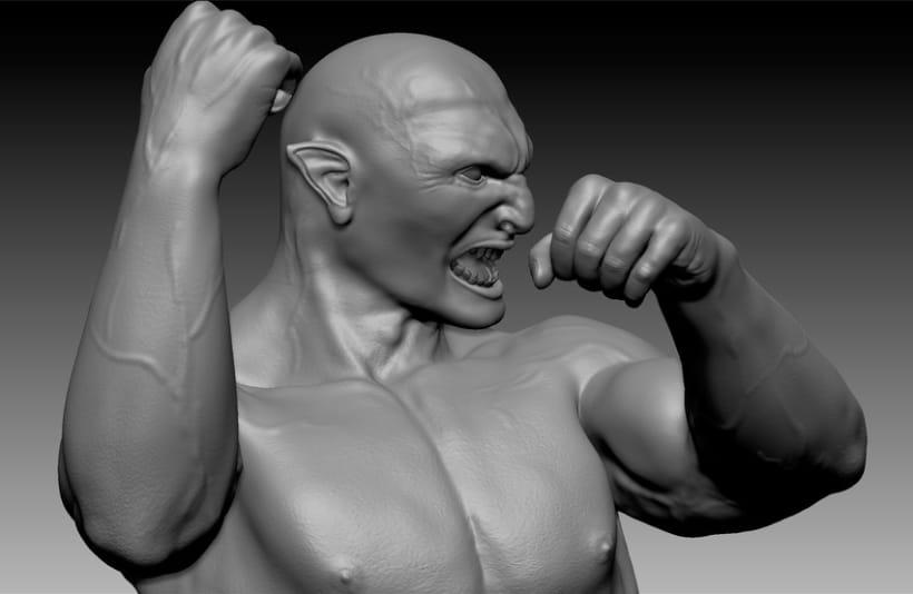 Centauro 3D - Zbrush 12