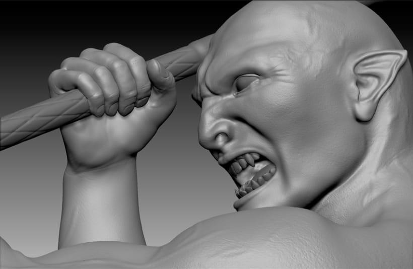 Centauro 3D - Zbrush 11