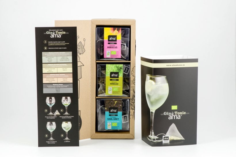 Alma Gin&Tonic Herbal Infusions 1