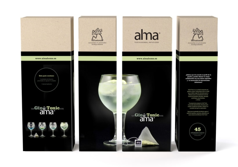 Alma Gin&Tonic Herbal Infusions 6