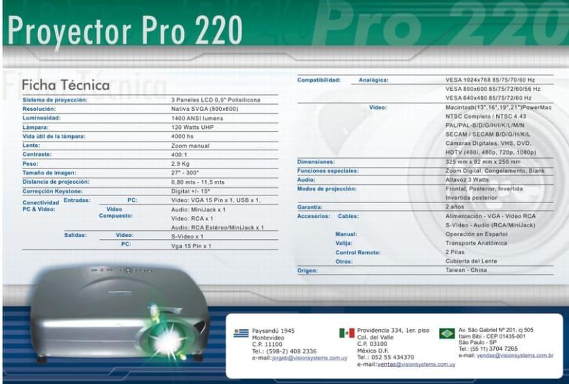 Data sheets, Documentos de Productos, Mailing 4