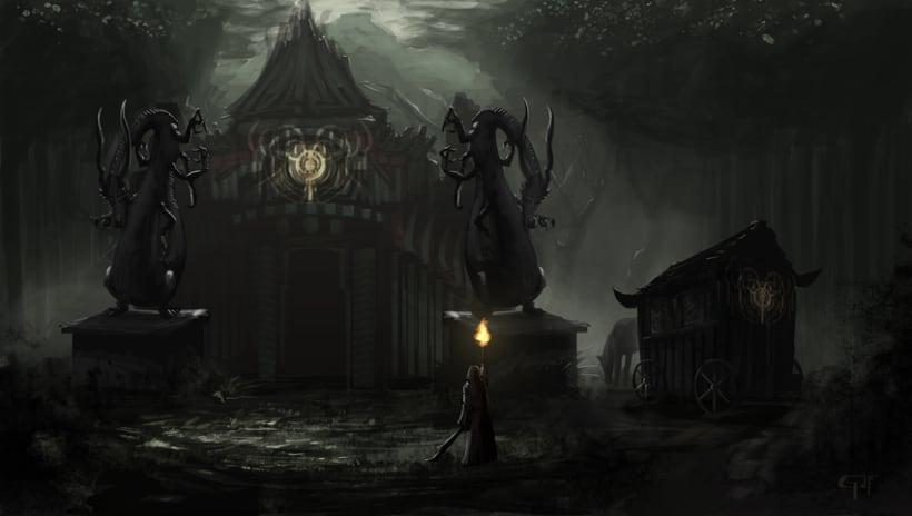 Templo en el Bosque -1