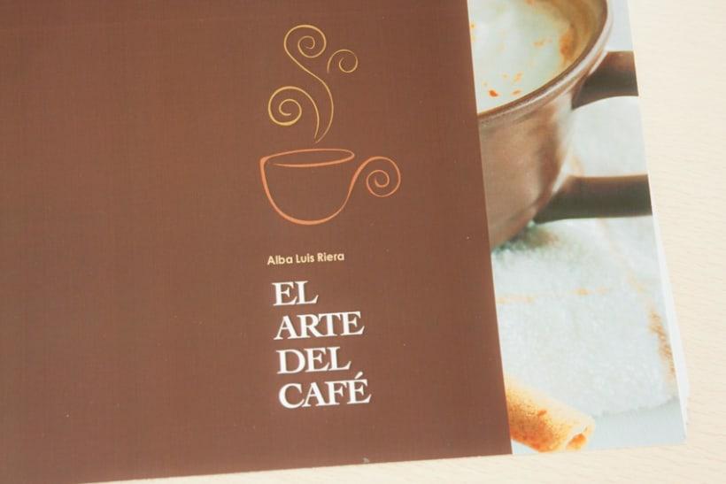 """Disseny i maquetació """"receptari de cafè"""" 0"""