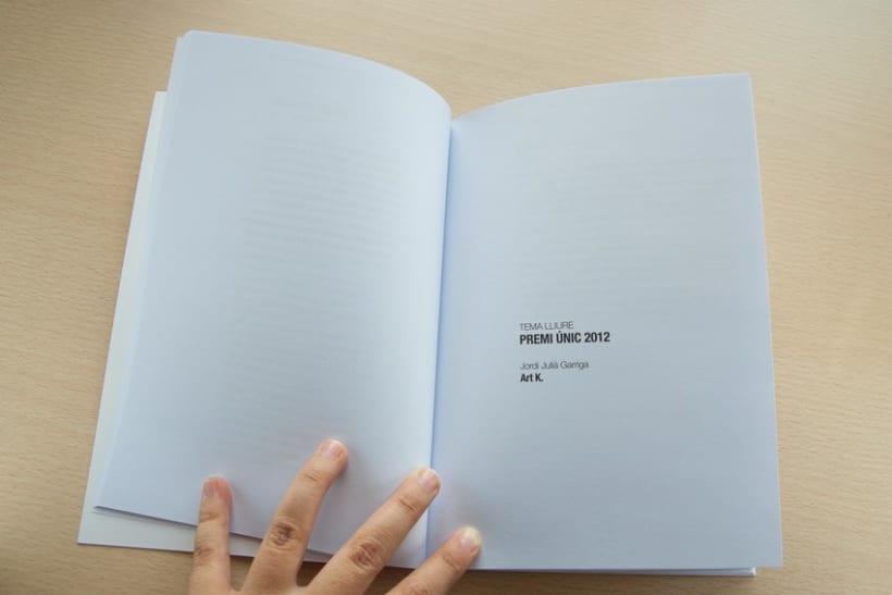 """Disseny i maquetació del llibre de poesia """"Premis Pepi Pagès 2012-2013"""" 6"""