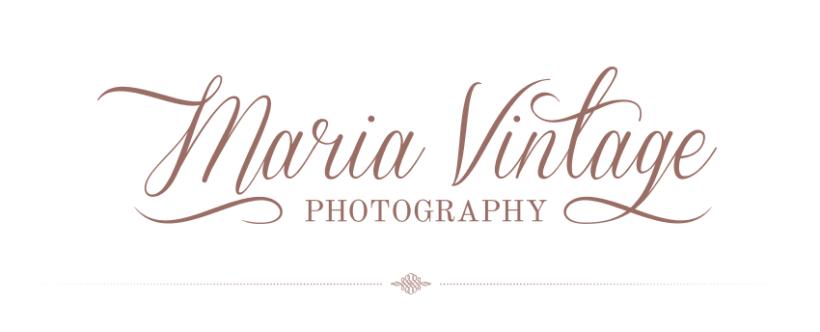 Maria Vintage Photography · Logo/Signature Design & Blog Restyle 0