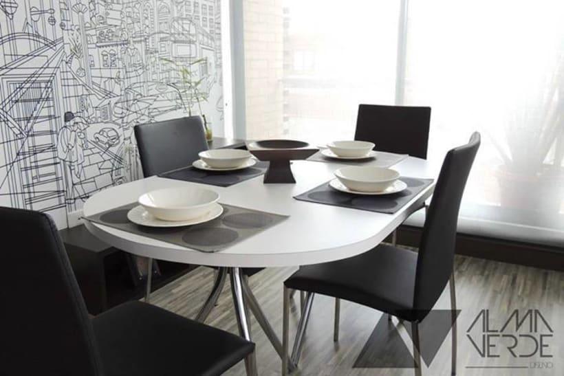 Adecuacion hogar - Comedor- Cama y Vinilos 1