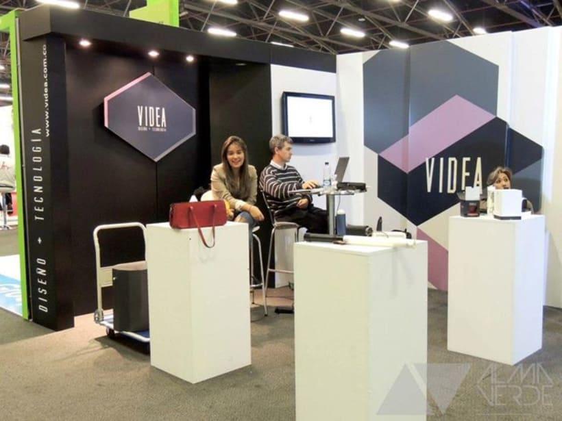 Videa Diseño - Tecnologia / Stand Jovenes Empresarios 1