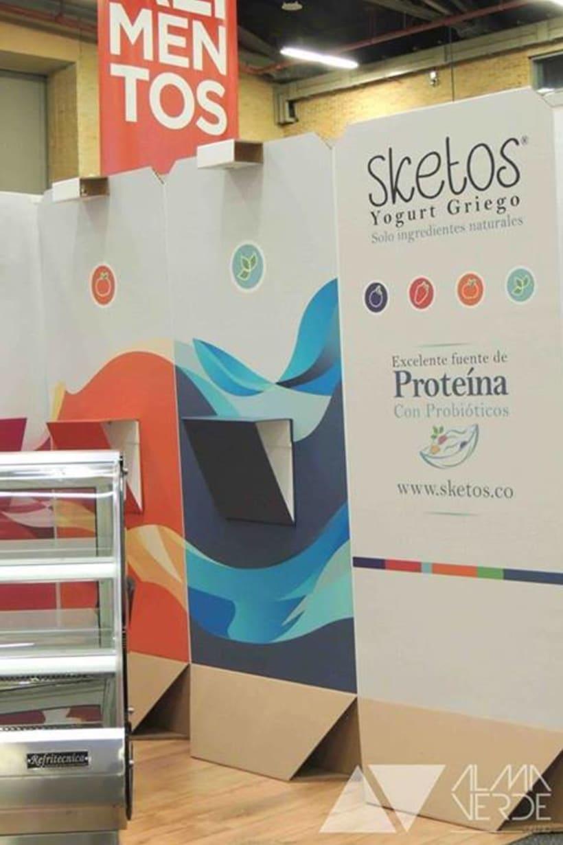 """Sketos """"Yogurt Griego"""" / Stand Jóvenes Empresarios 7"""