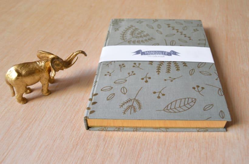 Cuadernos entelados 27