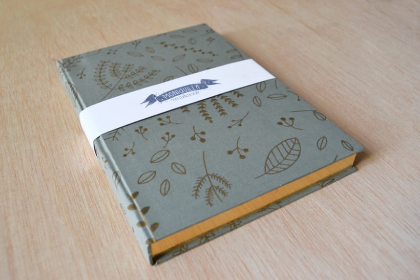 Cuadernos entelados 28