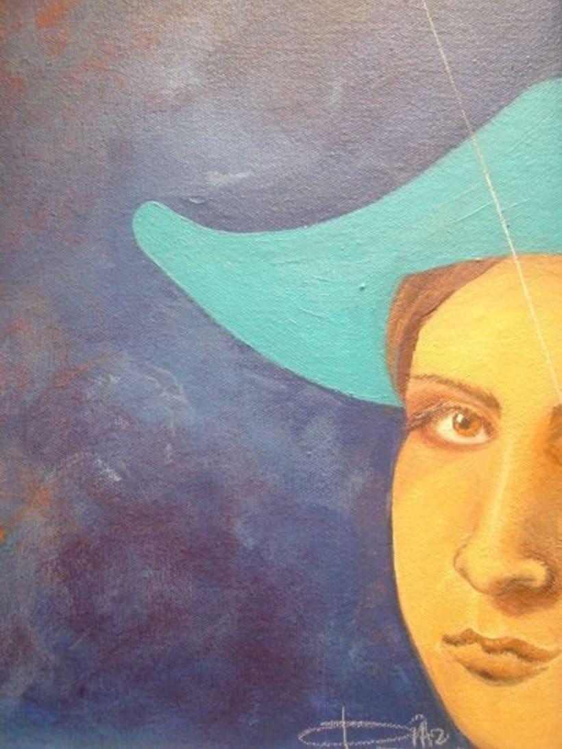 1st Exposition : Arte per tuti (IIC-Guatemala) Students and me. 1