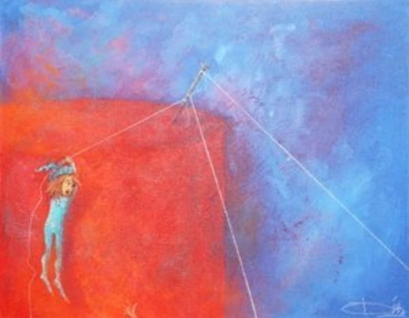 1st Exposition : Arte per tuti (IIC-Guatemala) Students and me. 13