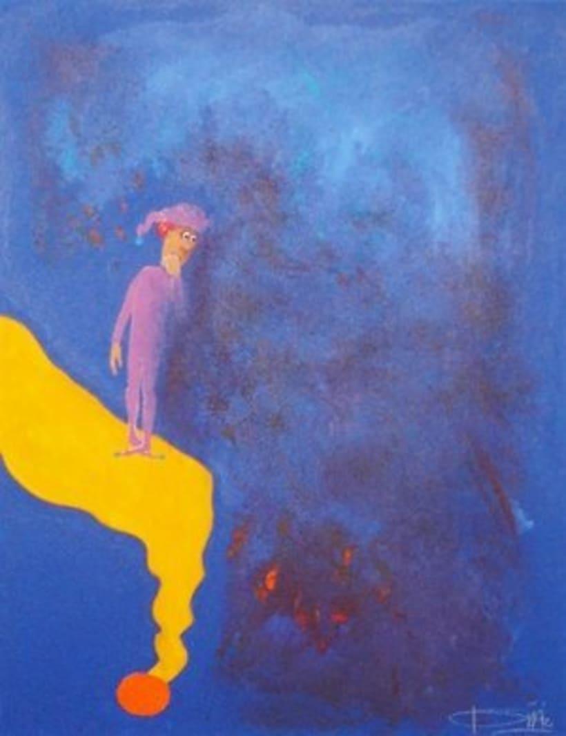 1st Exposition : Arte per tuti (IIC-Guatemala) Students and me. 14
