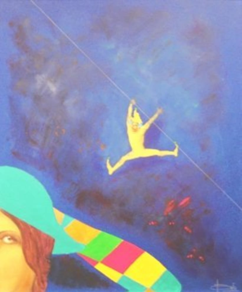 1st Exposition : Arte per tuti (IIC-Guatemala) Students and me. 16