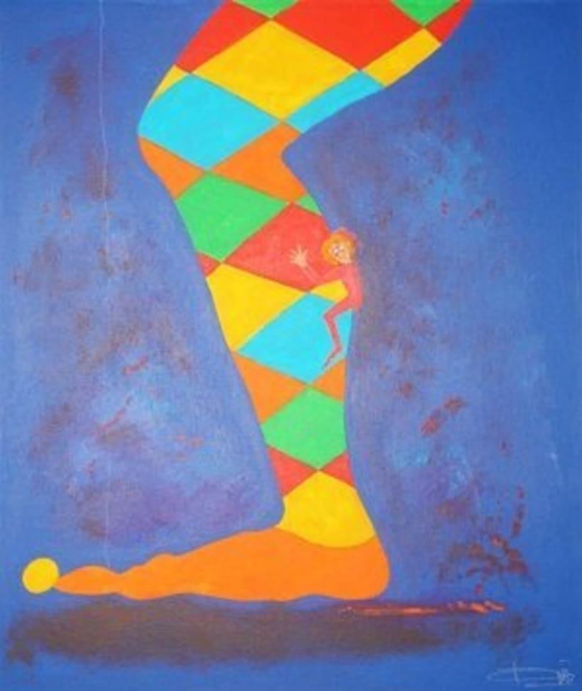 1st Exposition : Arte per tuti (IIC-Guatemala) Students and me. 17