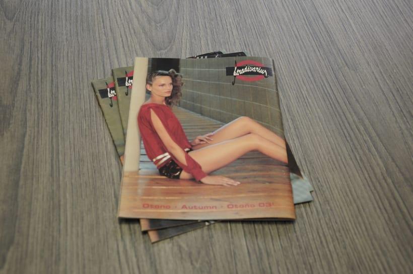 Lookbook  Otoño '03 para Stradivarius 8