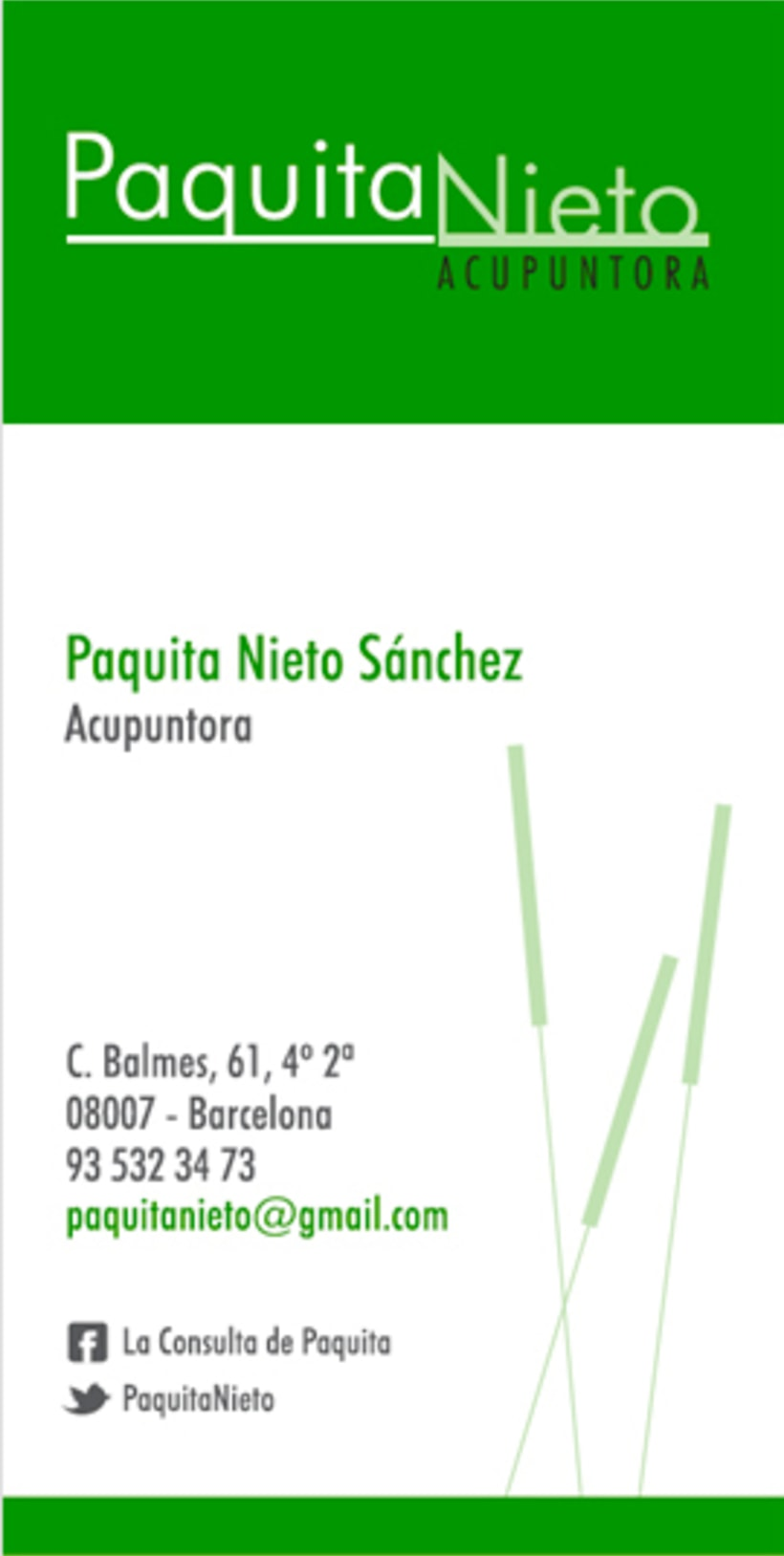 Paquita Nieto Acupuntora 1