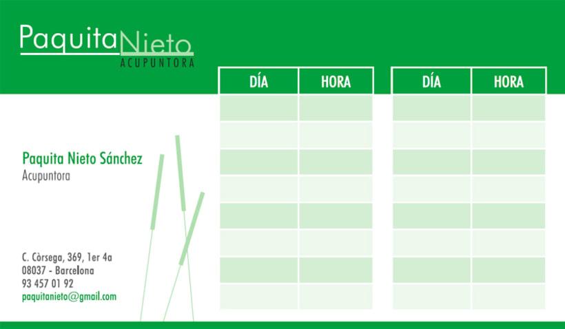 Paquita Nieto Acupuntora 2