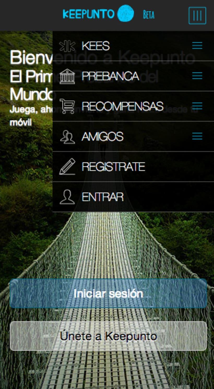 Keepunto Diseño Movil (web mobile) 2