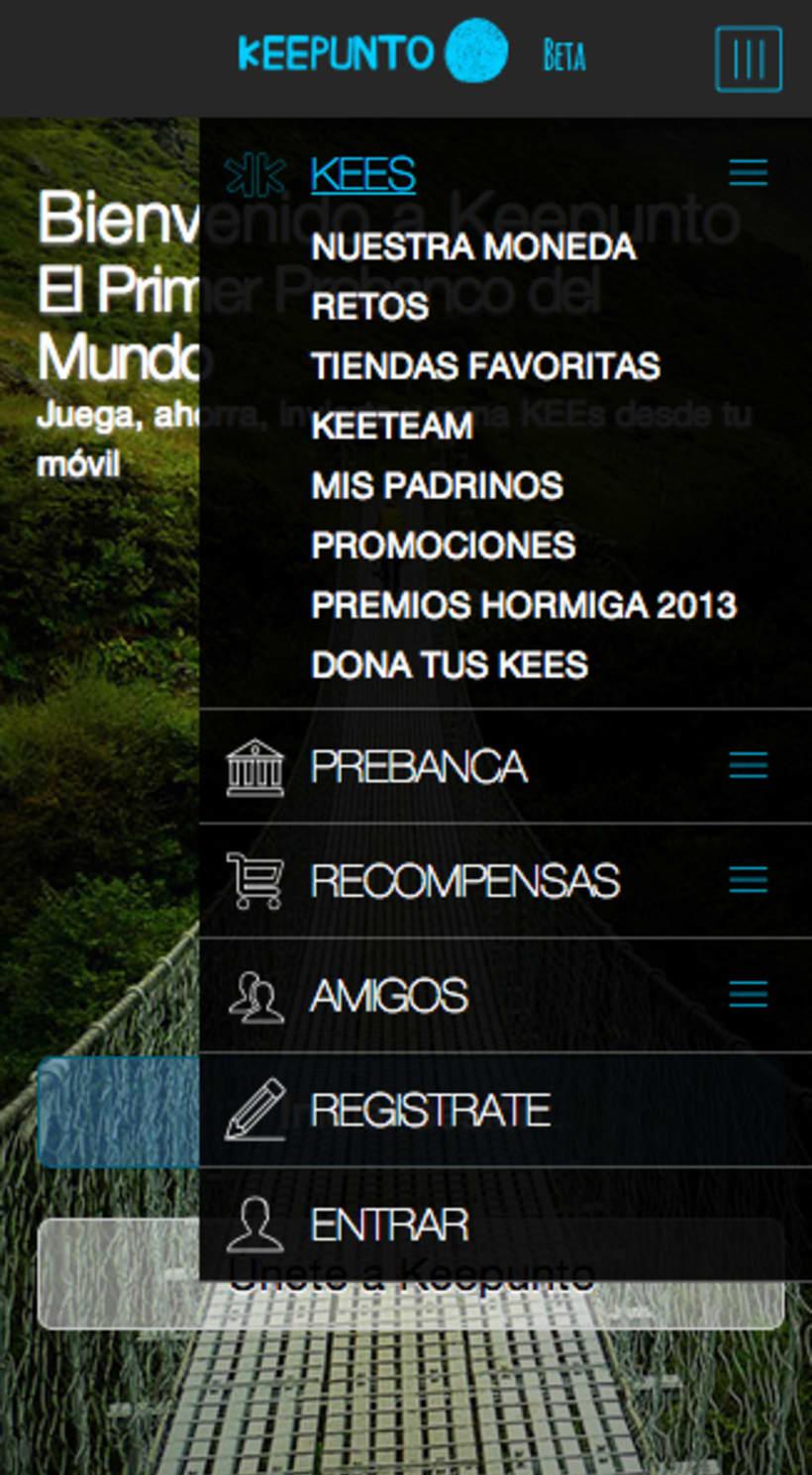 Keepunto Diseño Movil (web mobile) 3
