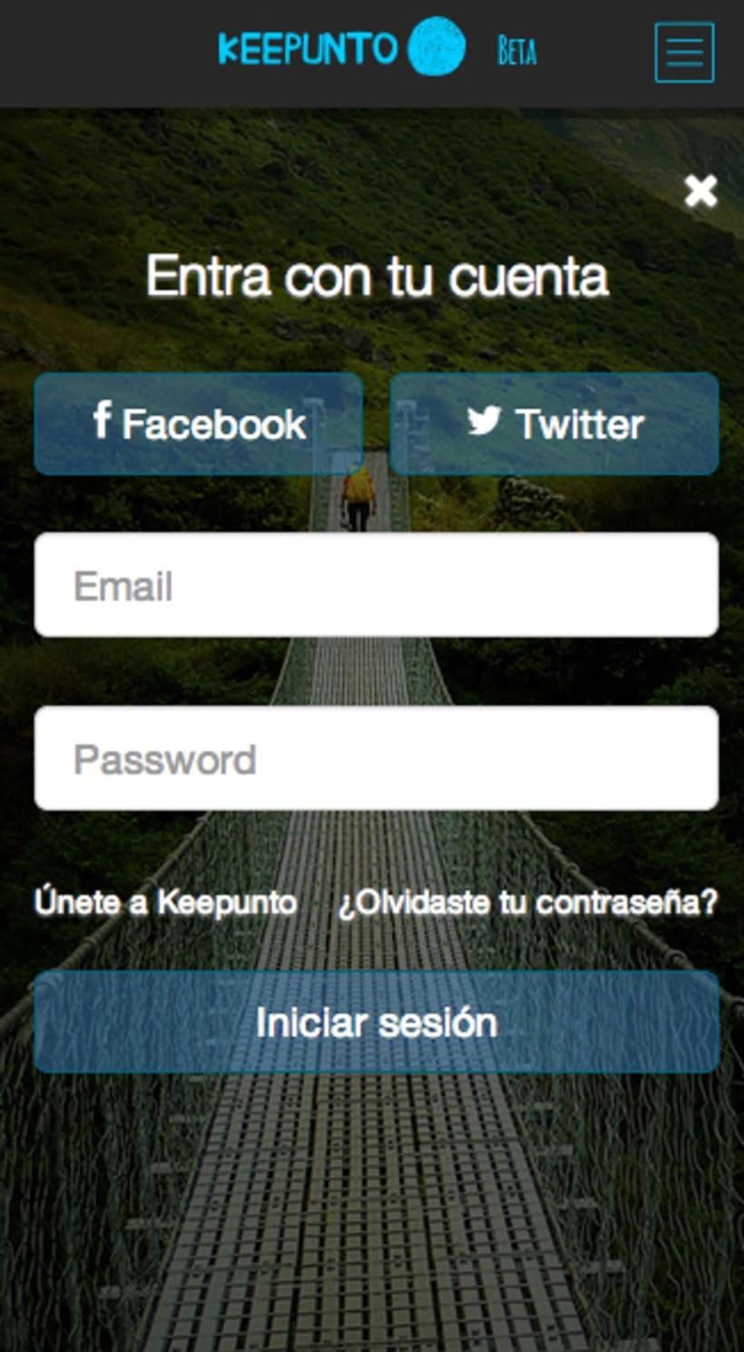 Keepunto Diseño Movil (web mobile) 4