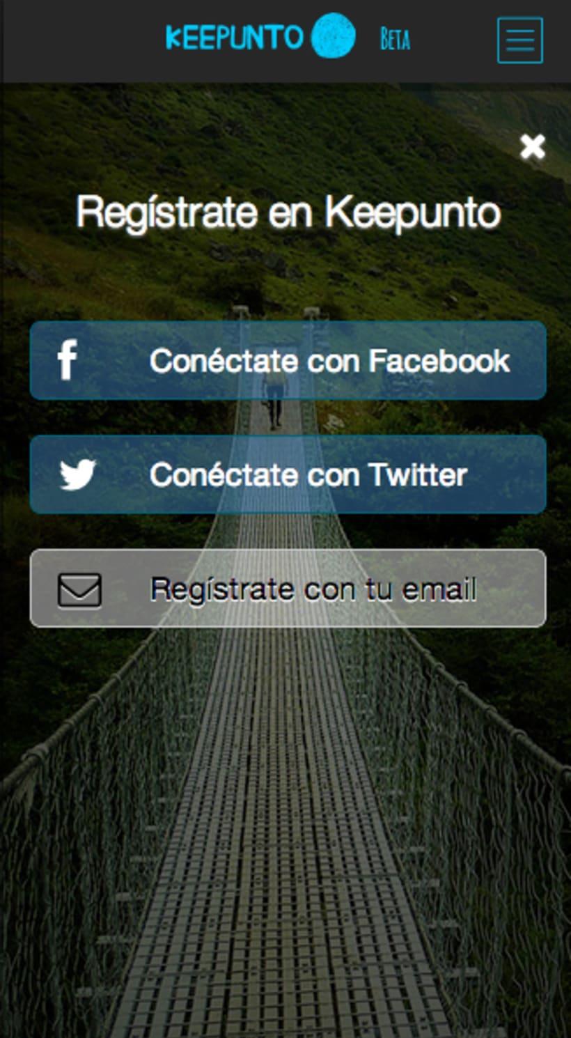 Keepunto Diseño Movil (web mobile) 5