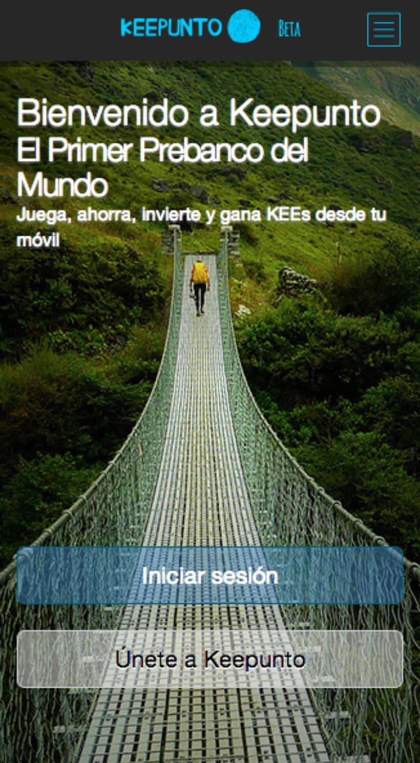 Keepunto Diseño Movil (web mobile) 1
