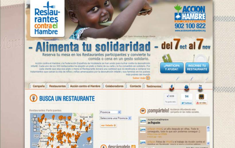 Restaurantes contra el hambre -1