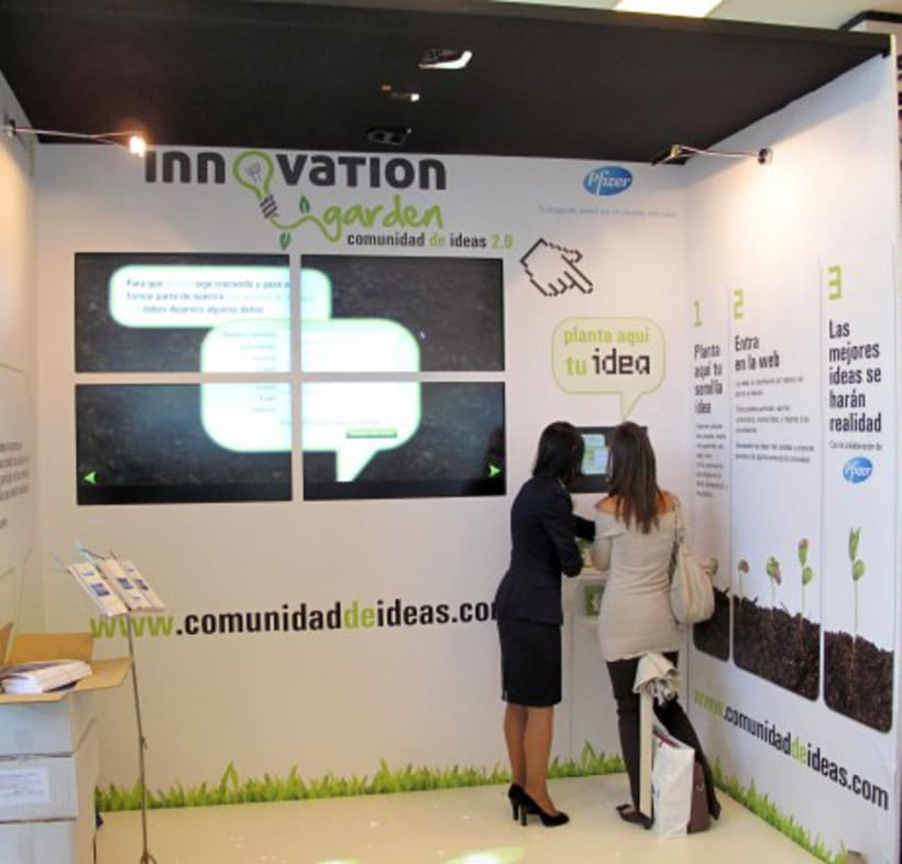 Innovation Garden - Stand - -1