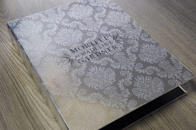 Carpesano para la colección Morilee de Madeline Gardner 5